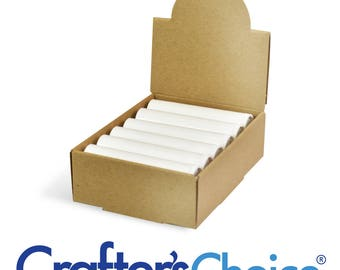 5 Lip Balm Display Arched Box Crafters Choice Brand - Holds 12 Standard Tubes Rim Country Soap Bath & Body Supplies