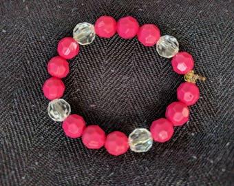 Red Cherry Child's Bracelet