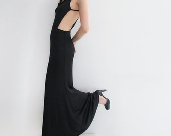 Stunning FRANCKY VELUCCI PARIS 90s Evening Party Dress