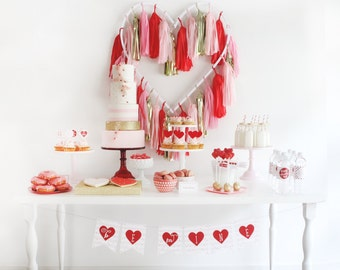 Valentine's Day Party Package- Printable, Instant Download