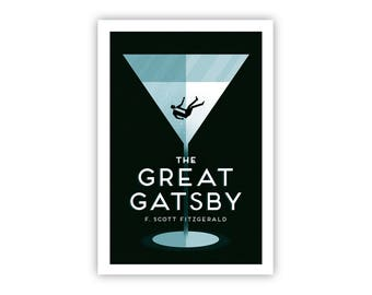 The Great Gatsby - Giclée Print