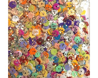 Sparkle hexies confetti mix