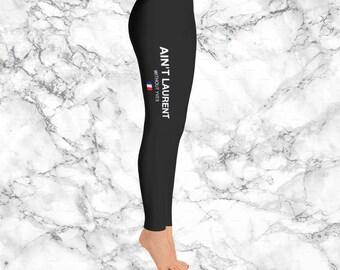 YSL Leggings, saint laurent leggings, Ain't laurent without yevs leggings, Fashion, Styilish women leggings