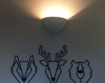 "Large ""Woodland Gang"" wall decoration"