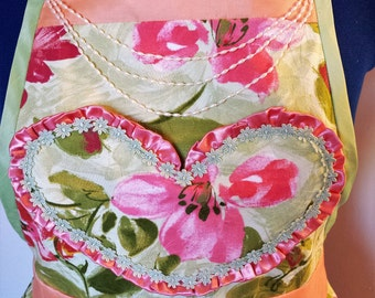 Fancy Apron for the Kitchen Diva