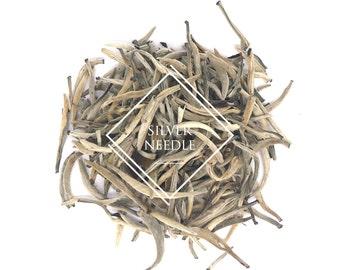 Silver Needle, Baihao Yinzhen, Chinese Tea, White Tea, Loose Leaf Tea