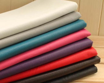 Embossed Synthetic Leather Fabric for Bag and Furniture in 8 colors
