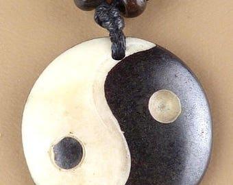 PENDANT Tibetan YING yang zen Buddhism meditation nepal tibet PAL2 crafts