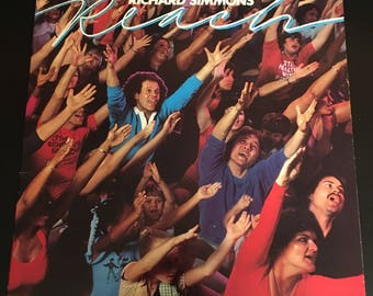 "1982 Richard Simmons ""Reach"" Vinyl and workout Book"