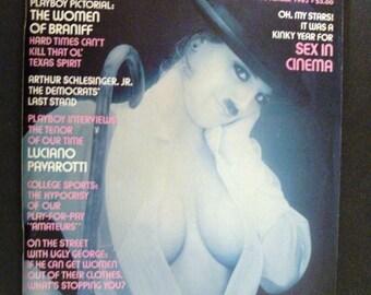 Playboy Magazine:  November, 1982