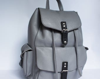 Women's Leather Backpack - VAJU Hand Made