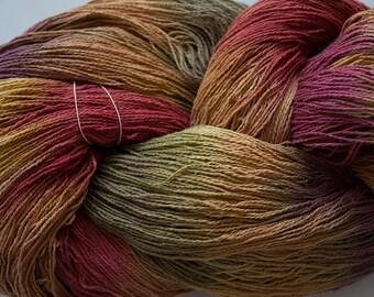 Stella, silk noil yarn, 1350 yds - Old Brass