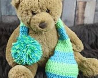 Newborn Crochet Stocking Cap Photo Prop