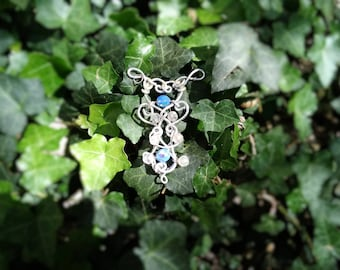 """Elven pendant """"star of the water"""""""