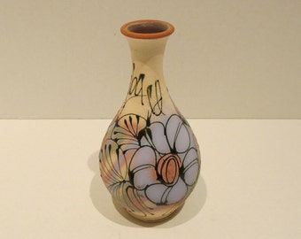 """7"""" Hand Painted Vase"""