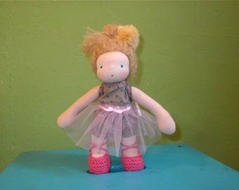 "waldorf doll 8"" * little Moira * OOAK *"