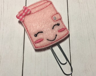 Felt Planner Clips, Notebook, Planner Clips, Planner Bookmark, Planner Paper Clip, Paper Clip, Planner Gift, Book Clips, Planner Accessories
