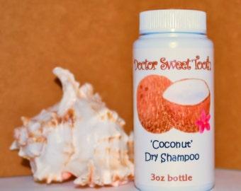 Creamy Coconut Dry Shampoo