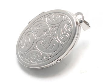 925 sterling silver Medallion with cloud ornament