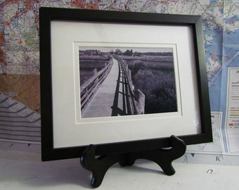 Framed 5x7 Boardwalk Photo matted to 8x7