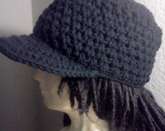 Basketweave Cadet Hat Pattern