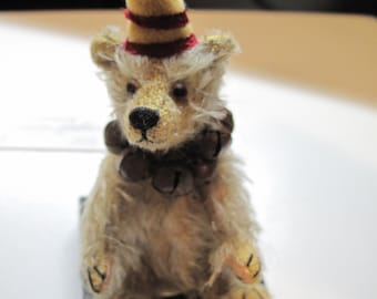 Vintage Artist Mohair Bear OOAK - Teddy Bear Artist Reanee Gladden 1997-1998 World of Miniature Bears #990