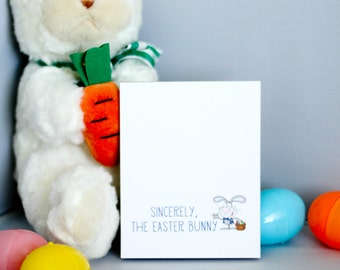A Note from the Easter Bunny