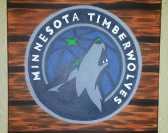 Minnesota Timberwolves Painting