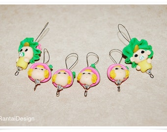 Stitch markers for knitting Froileins with baby