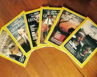 National Geographic Box Set - January 1991 to June 1991