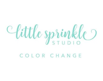 Color Change to any Little Sprinkle Studio Listing