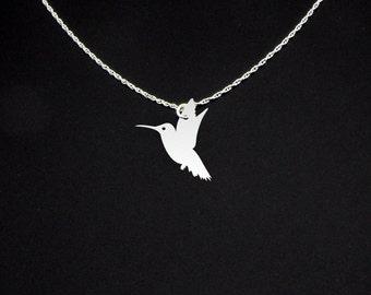 Hummingbird Necklace - Hummingbird Jewelry - Hummingbird Gift