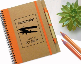 Special Order, 6 Customized Notebooks