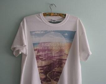 Bring me the Horizon T-shirt, Unique white Bring me the Horizon Band T-shirt, White T-shirt