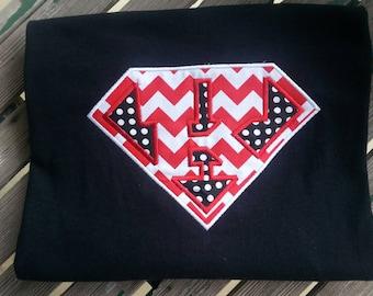 Superpower K for Kindergarten Teacher Shirt ADD school Name