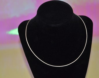 Silver Shimmer Chain
