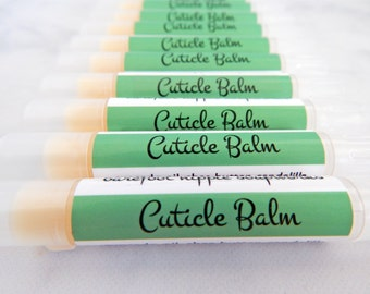 Cuticle Balm - cruelty free natural skin care - cuticle care - natural cuticle balm - natural skin care - natural nail care - gift under 5