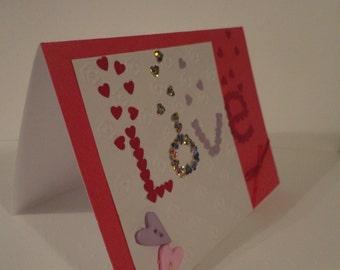 Love mosaic card