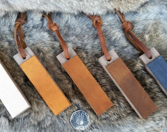 Micro Pocket Strop - With Leather Thong Pull