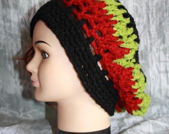 beret, crochet, very warm