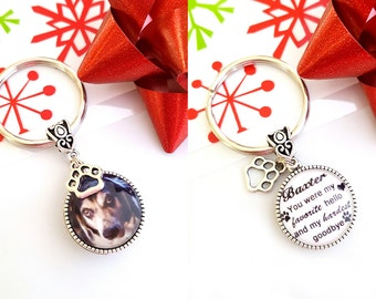 Pet Loss Gift / Pet Memorial Jewelry / Dog Memorial Jewelry / Pet Gift / Memorial Keyring / Pet Memorial Keyring / Pet Loss Keychain