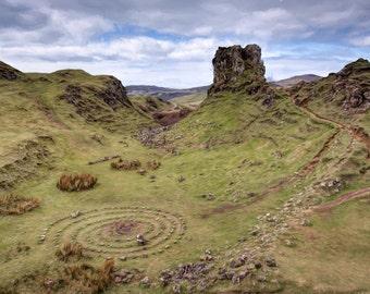 "Fine Art Photography, Scotland - ""The Fairy Glen, Isle of Skye"""