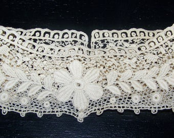 Fancy Vintage  High Neck Collar Store Stock