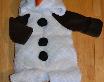 Olaf Costume Pattern sizes 0-18 months