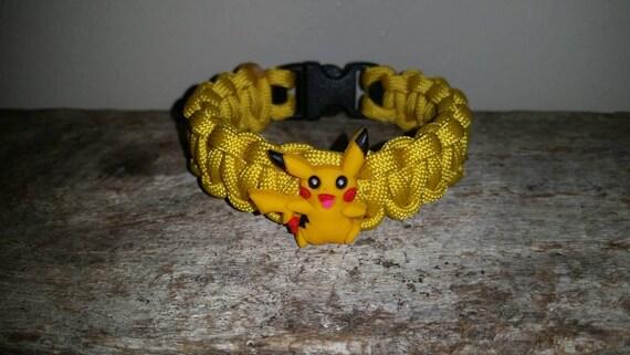 Pikachu Pokémon 550 paracord survival bracelet
