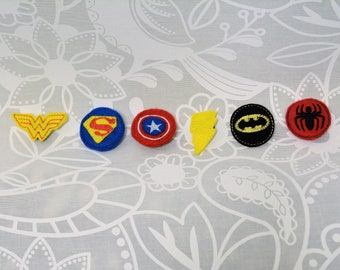 SuperHero Pin for Stuffed Animal
