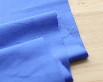 "Solid Cotton Fabric - Blue - 62"" Wide - By the Yard 62232"