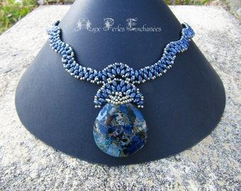 Amphitrite beaded necklace
