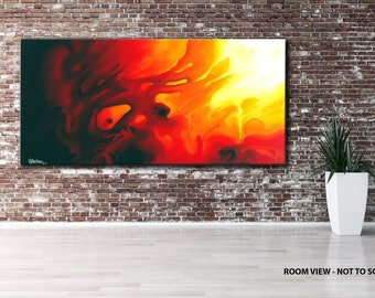 LARGE, Original ABSTRACT PAINTING, canvas, Wall Art, Modern, Contemporary