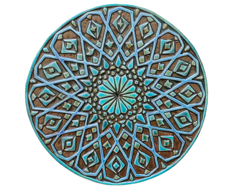 Lujoso Pared De La Cocina Marroquí Azulejos Reino Unido Bosquejo ...